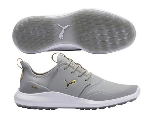 Puma Golf Men S Ignite Nxt Pro Golf Shoe High Rise Puma Team Gold Puma White In 2020 Golf Shoes Mens Golf Shoes Shoes