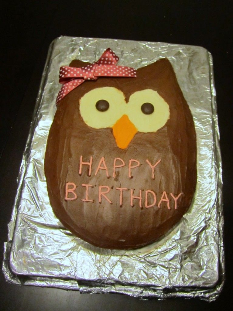 Easy Owl Cake Design : easy owl cake Food to Make Pinterest Cakes, Cake ...