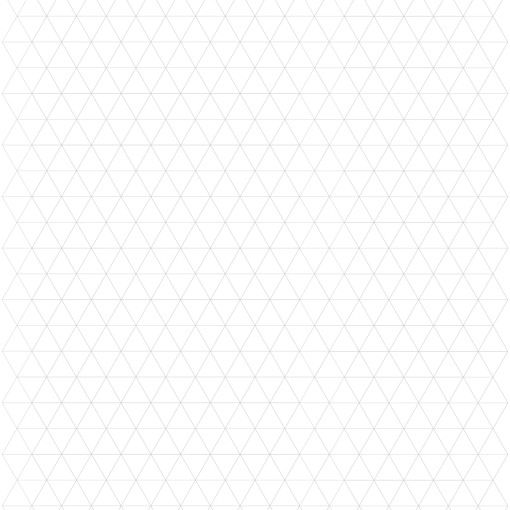 Equilateral triangle graph paper for quilter design - The - triangular graph paper
