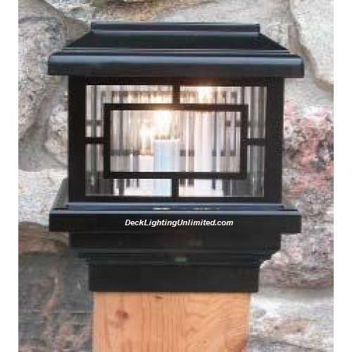 Aurora Orion Deck Post Light 12v Low Voltage 1 6w Led Choose Size Color Ebay Deck Post Lights Outdoor Solar Lights Post Lights