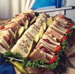 Mini Sandwiches For Parties Appetizer Recipes