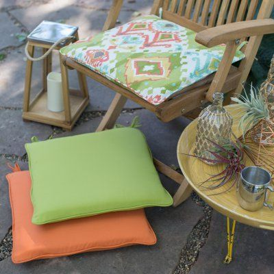 Coral Coast Tuscany 21 X 19 In Corded Outdoor Chair Cushion