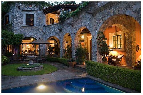 Fachada de casas rusticas fachadas casas de dos plantas Casas rusticas mexicanas