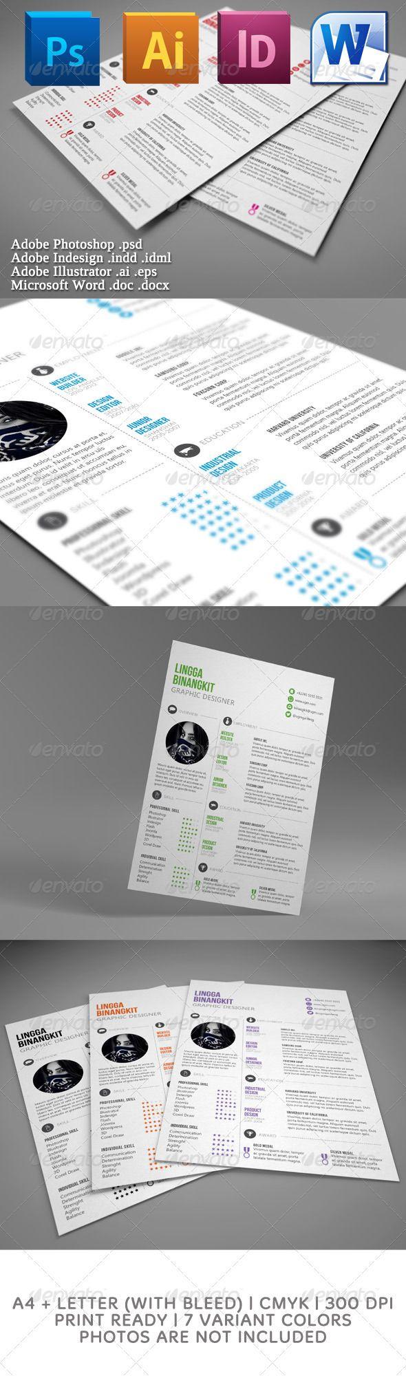 Creative Curriculum Vitae #CV #CurriculumVitae | design | Pinterest ...