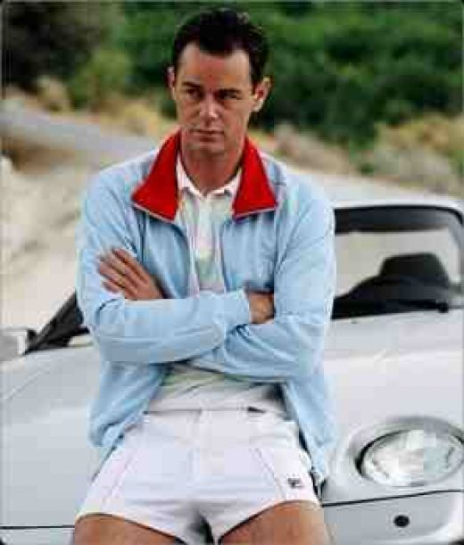 578ede7623cfc Sergio Tachini Sky Blue Dallas: Danny Dyer in The Business Fila Vintage,  Film Books
