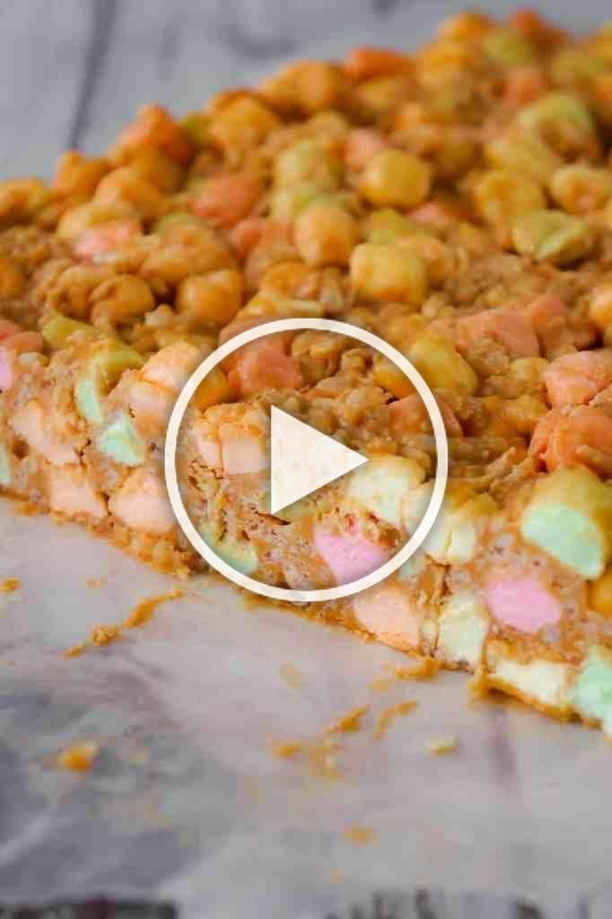 Peanut Butter Marshmallow Bars are an easy dessert recipe perfect for your holiday treat tray. These peanut butter and butterscotch confetti squares are loaded with colourful mini marshmallows, Rice Krispies and shredded coconut. #confettisquares Peanut Butter Marshmallow Bars are an easy dessert recipe perfect for your holiday treat tray. These peanut butter and butterscotch confetti squares are loaded with colourful mini marshmallows, Rice Krispies and shredded coconut. #confettisquares Peanut #confettisquares