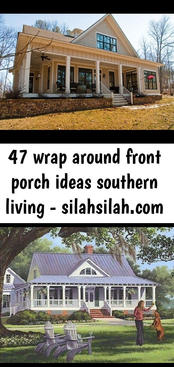 47 wrap around front porch ideas southern living  47 Wrap Around Front Porch Ideas Southern Living  SILAHSILAHCOM 34 Stunning Farmhouse House Plans Ideas With Wrap Around...