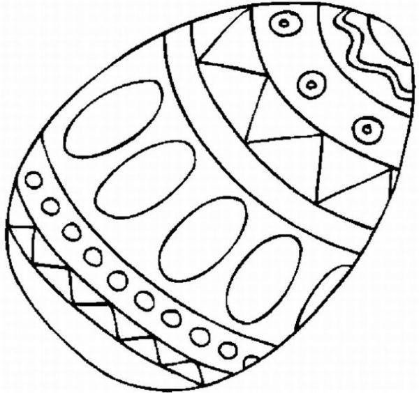 Color the Ostara egg and explain its origin Coloring Printables