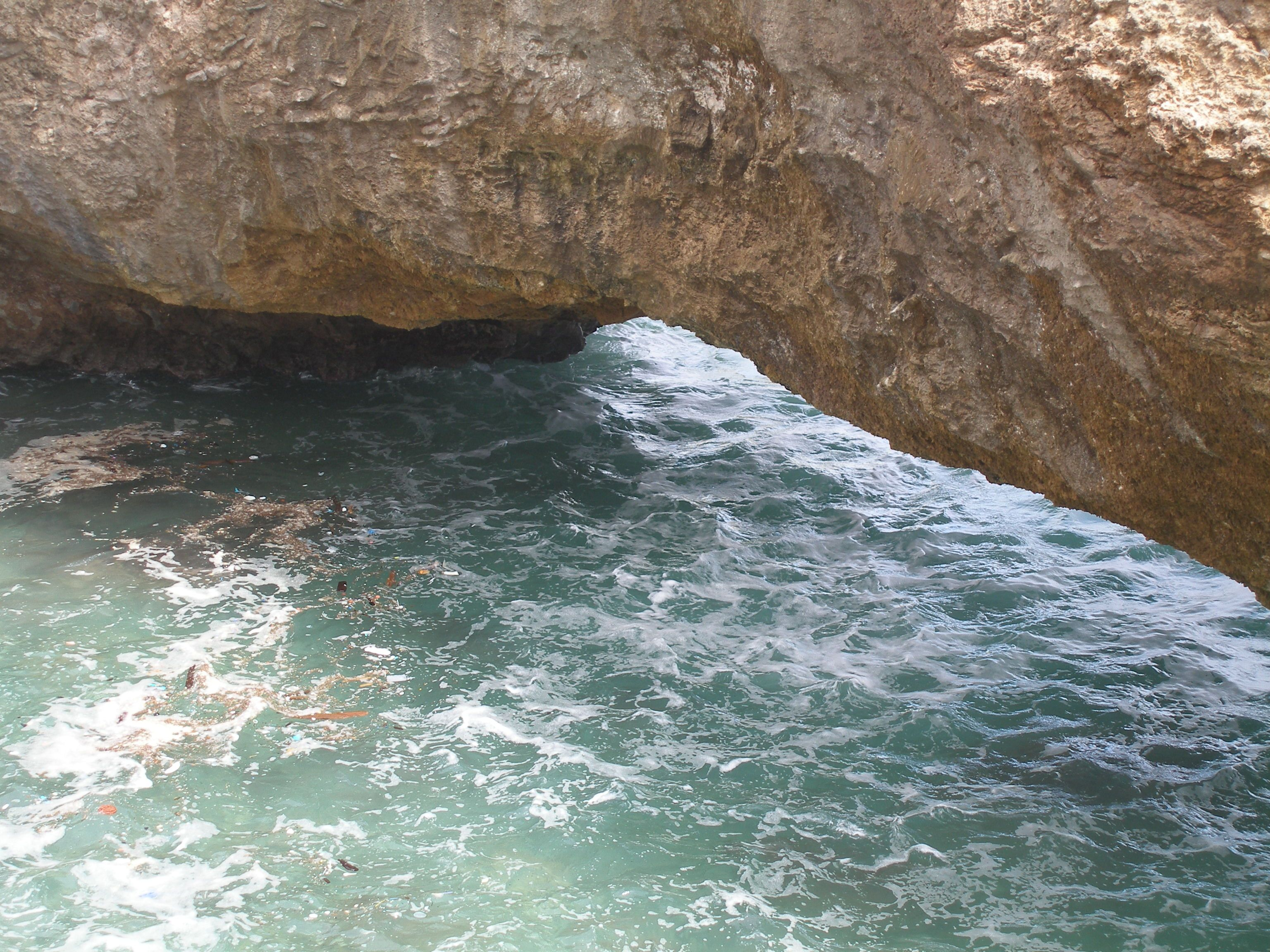 The Natural Bridge in Aruba