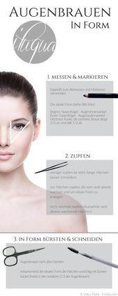 Las cejas enmarcan tu cara. Para que te depiles las cejas correctamente y …