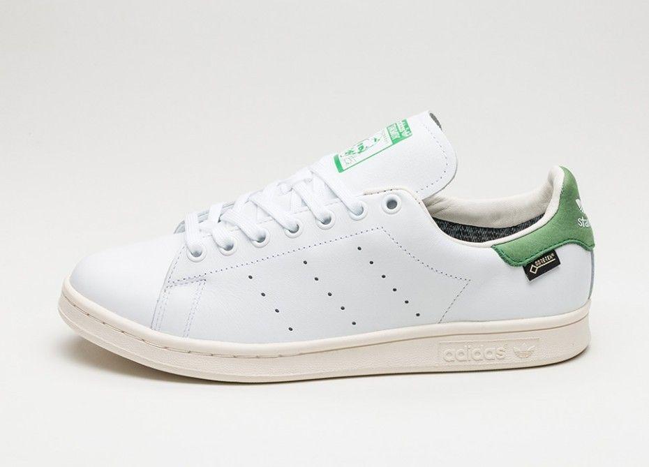 competitive price 653ce ab8ed Tienda online adidas Stan Smith GTX Cómodo Zapatillas Blancas Blancas Verdes  S80049