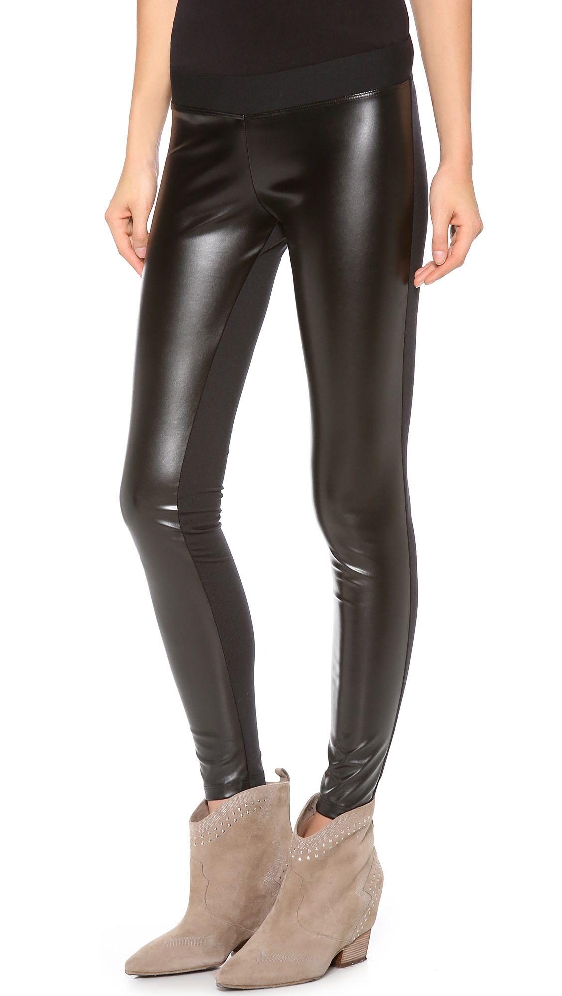 e2d636a089761 Shiny Metallic Active Legging | swag | Maternity leggings, Leggings ...