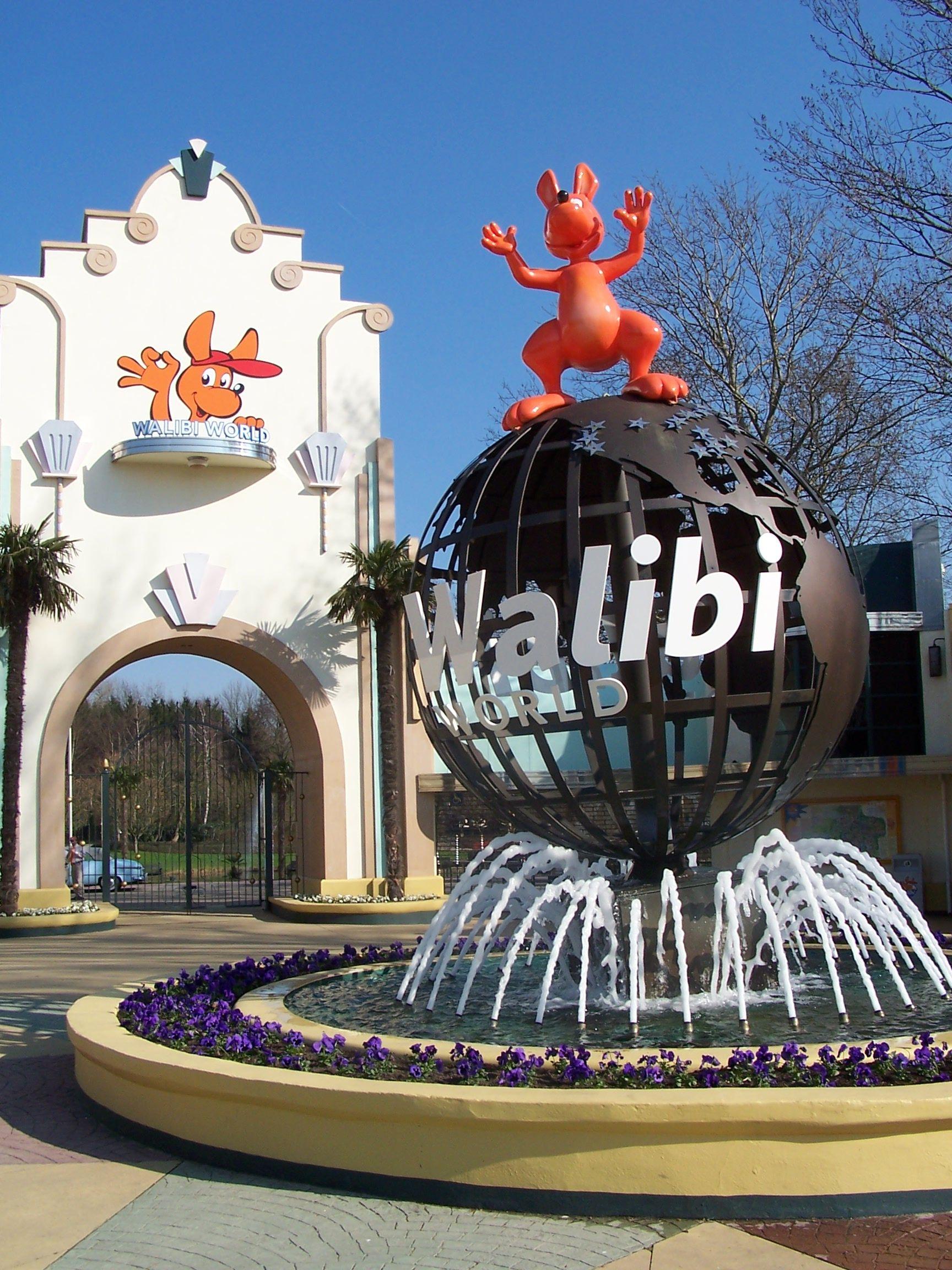 Walibi biddinghuizen pretparken en dierentuinen for Amusement park netherlands