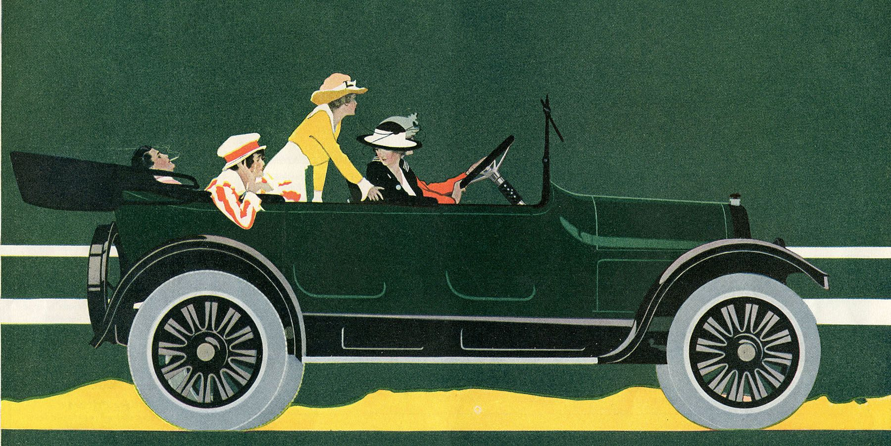 car vintage art advertising - Cerca con Google