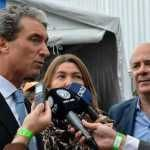 Canteros analizó la economía con Bein y fue al acto de Scioli: Con Daniel gana Corrientes