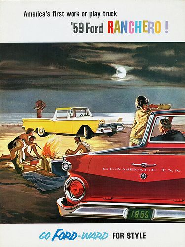1959 Ford Ranchero brochure cover