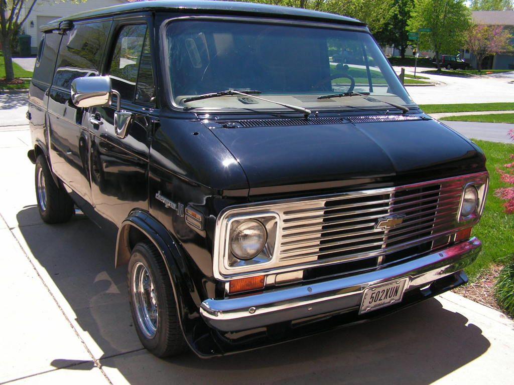 1976 Chevrolet Van | Custom Chevy Vans: 1971-96 | Pinterest ...
