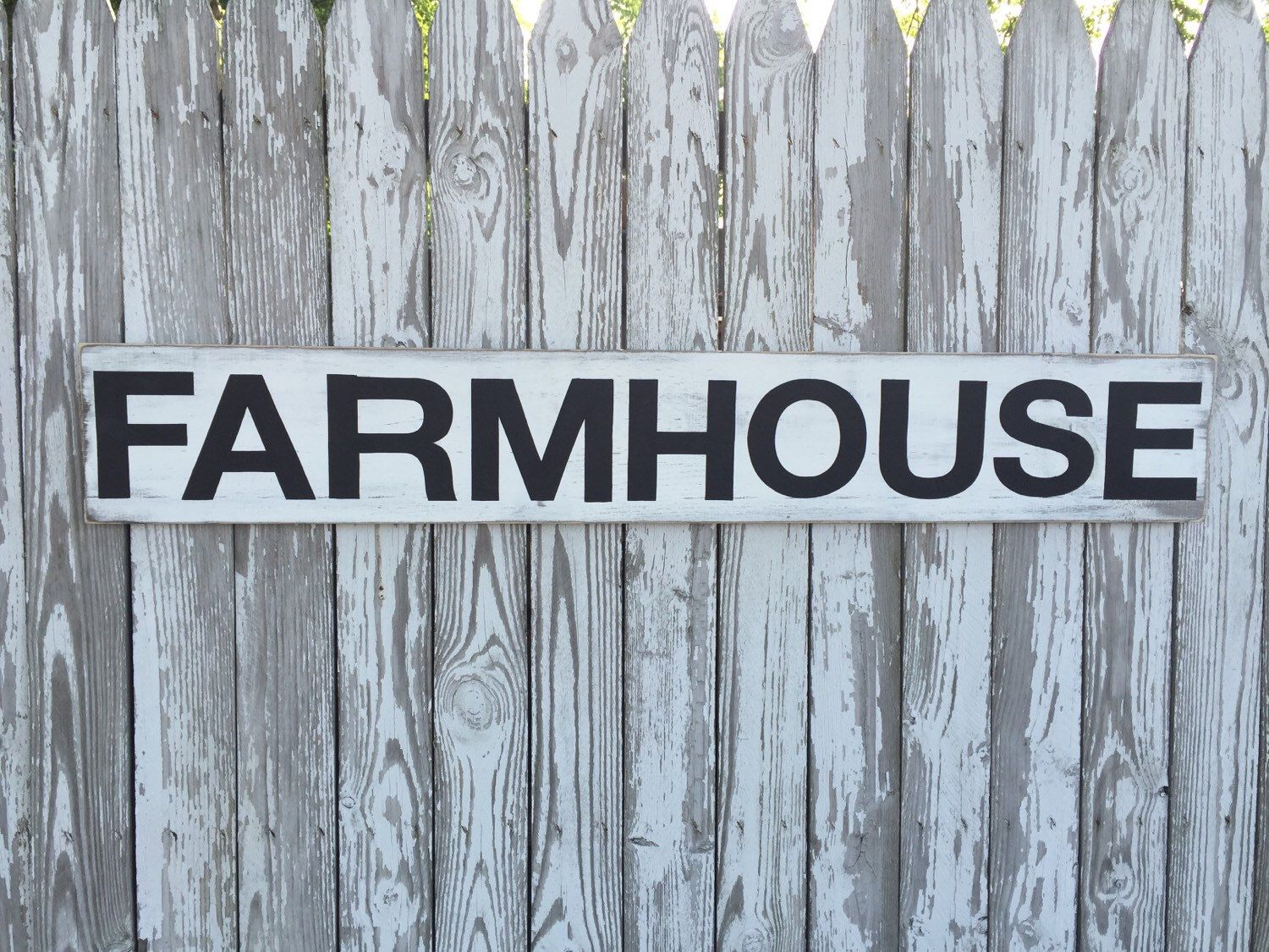 A personal favorite from my Etsy shop https://www.etsy.com/listing/384757006/farmhouse-sign-70-color-options-wood