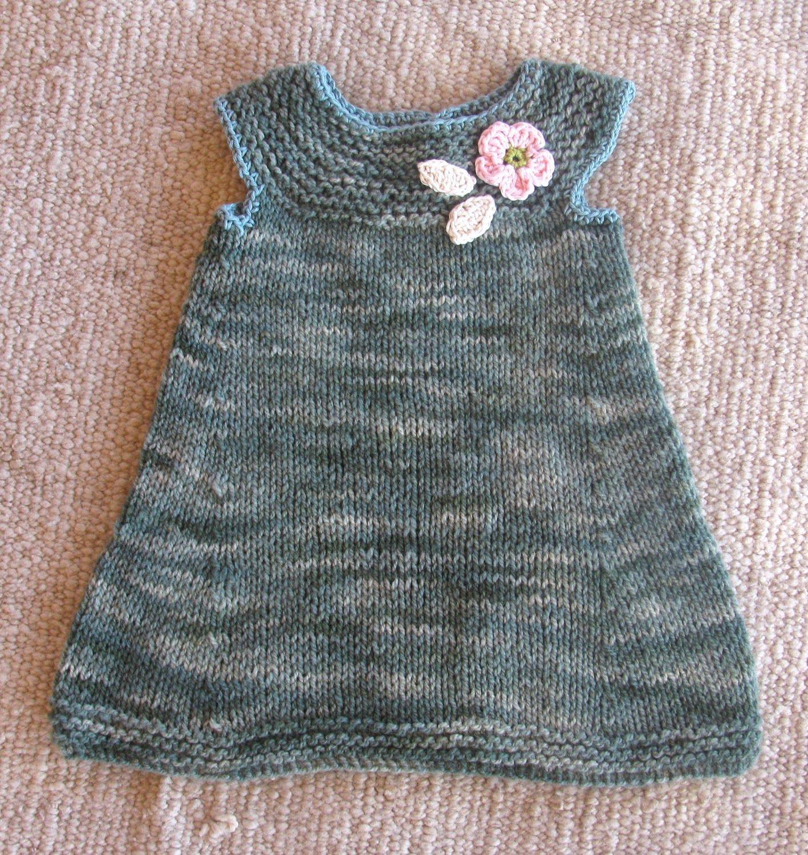 d3b579003 vestido de lana niña - Buscar con Google | Ideas de punto | Vestido ...