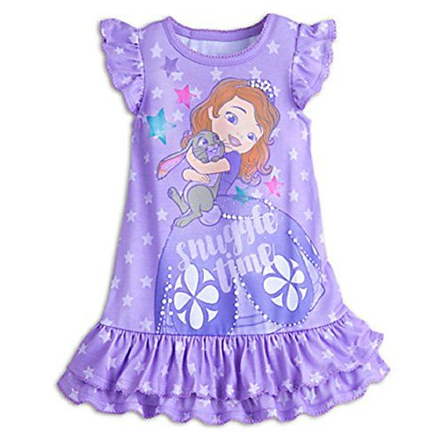 0c40345247 Disney Store Sofia the First Nightshirt Nightgown Princes ...