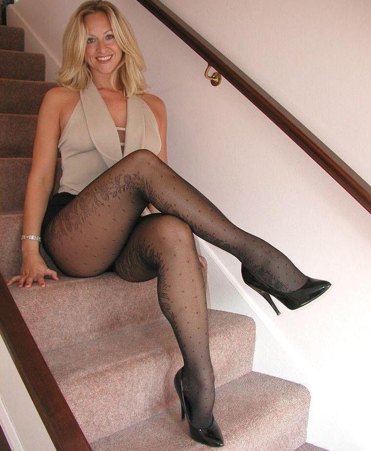 Sheer Nylon Legs 93