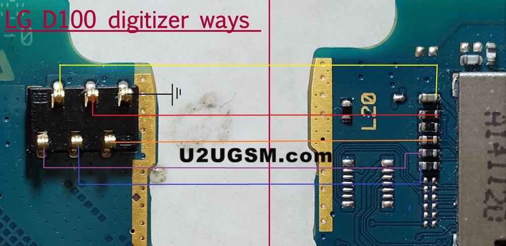 LG L20 D100 Display Problem Solution Jumper Ways | telefon teknik