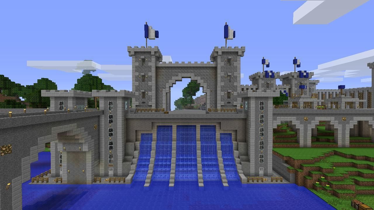 minecraft dam - google search | minecraft | pinterest | minecraft