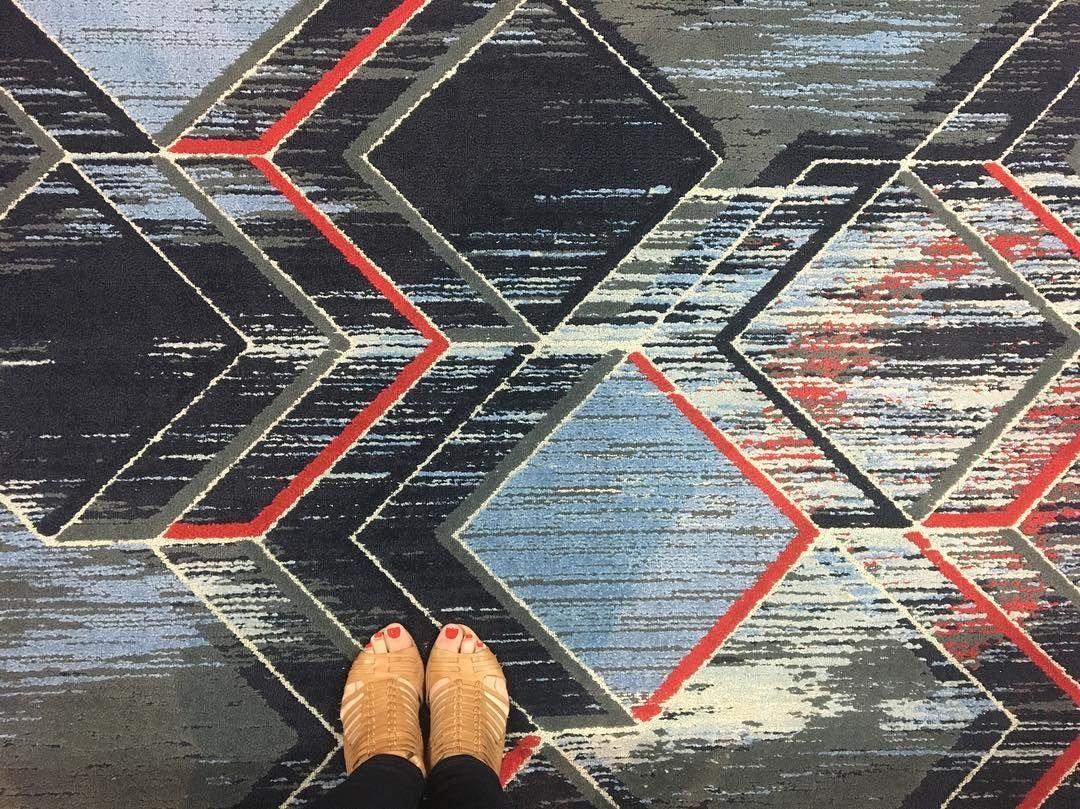 Cool carpet, cool shoes. #ihavethisthingwithfloors #HDexpo2016 #LAPSdesigners #lasvegas