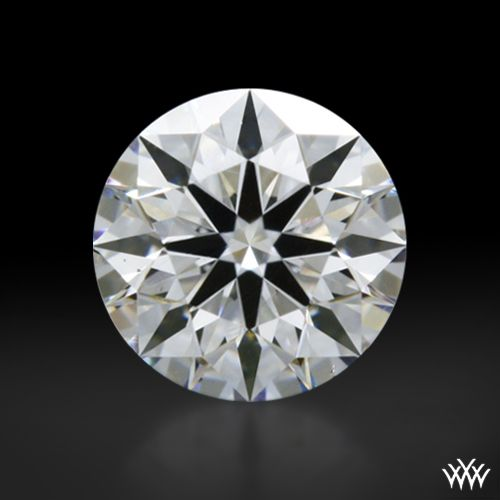 0.304 carat D color VS2 clarity A CUT ABOVE® Hearts and Arrows Super Ideal Round Cut Loose Diamond - Hearts and Arrows Ideal Proportions and a AGS Diamond Report. Price $774 www.whiteflash.com