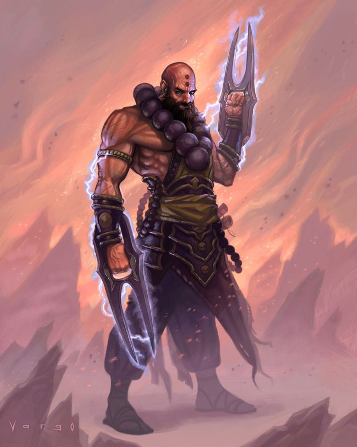vargo diablo 3 monk by davidvargo on deviantart