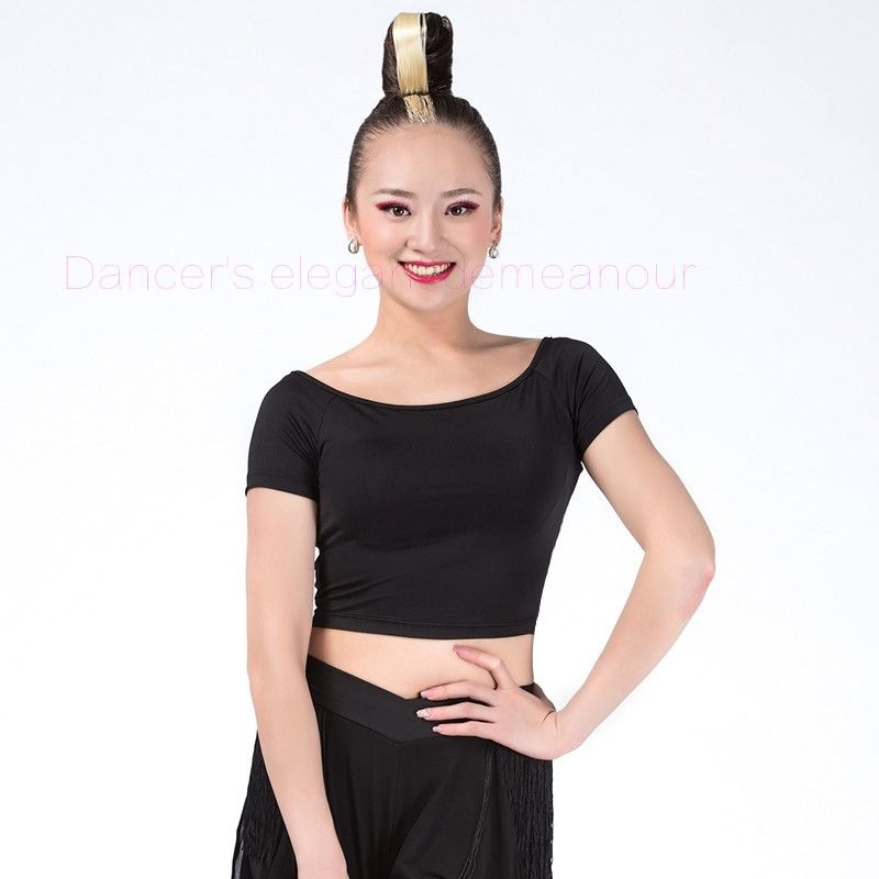 #S-3XL Women Lady Latin Ballet Wrap Skirt Dance Tango Rumba Scarf Dress Costumes