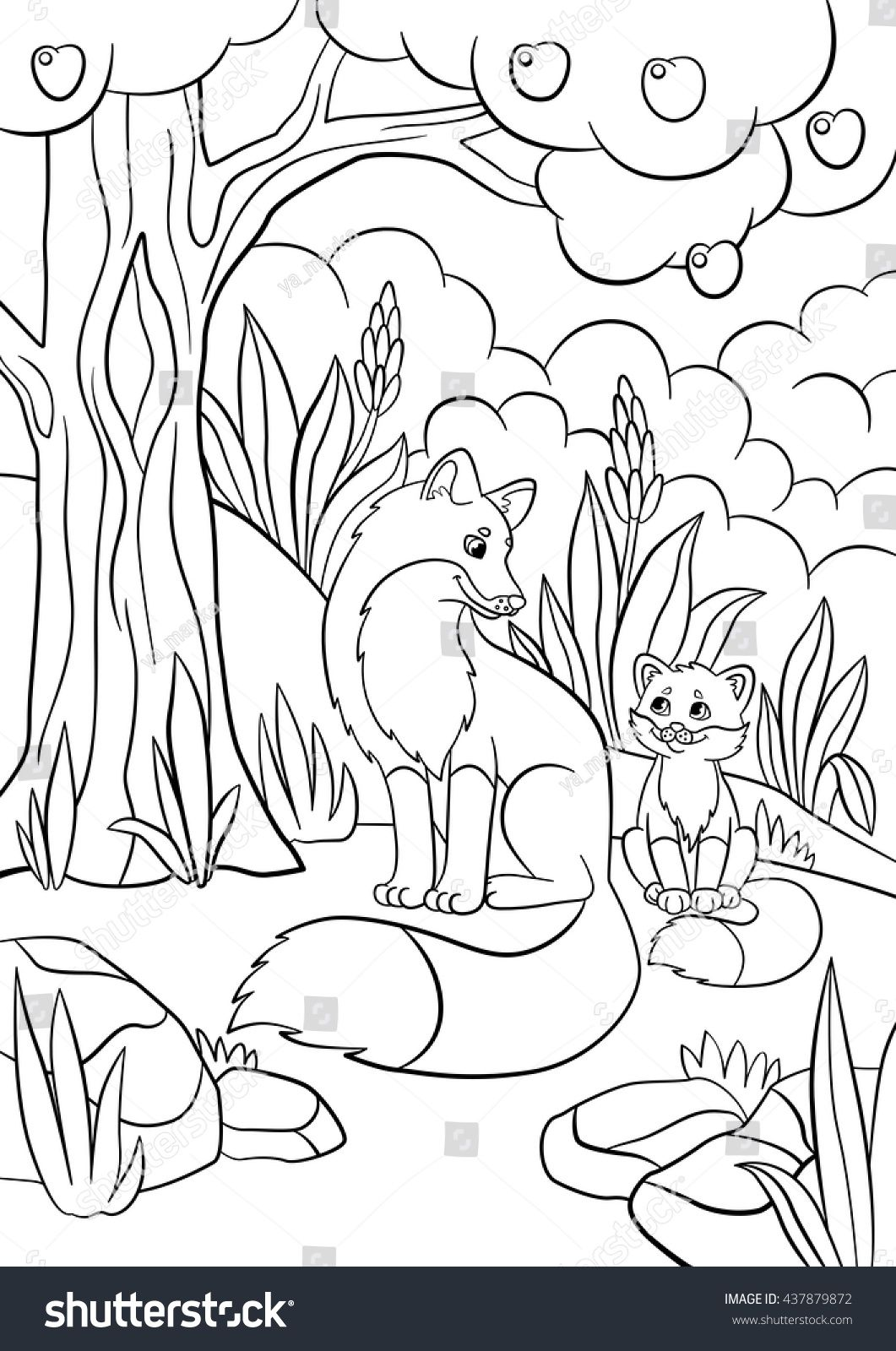 30+ Inspiration Image of Cute Animal Coloring Pages | Animal ... | 1600x1061