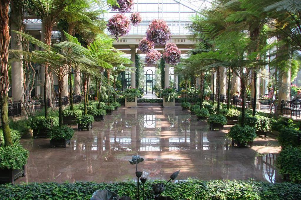 Nancy leonard on kennett square longwood gardens and for Indoor botanical gardens