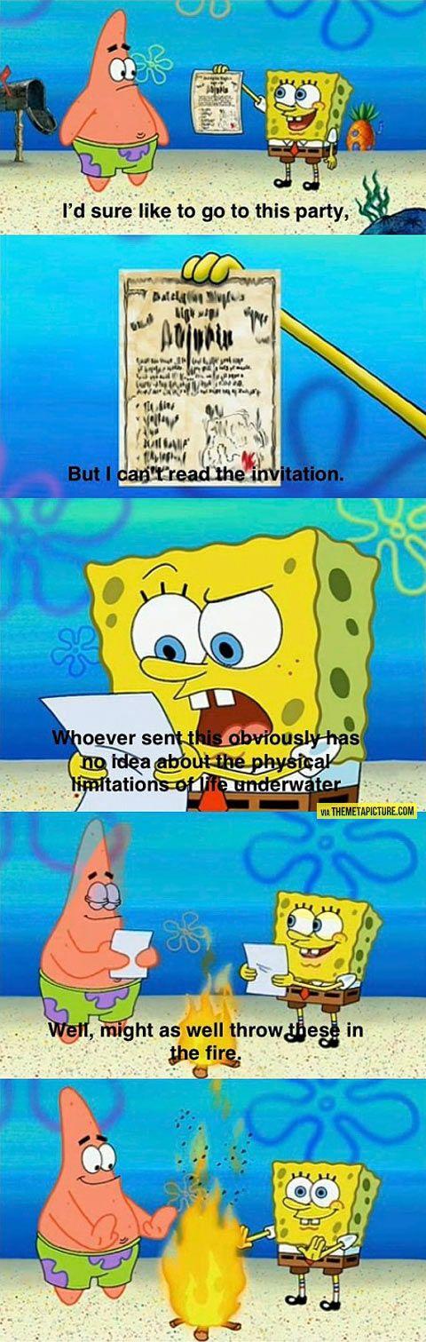 #Spongeboblogic