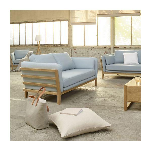 Canape 3 Places En Tissu Sofa Pequeno Sofa Tipos De Sofas