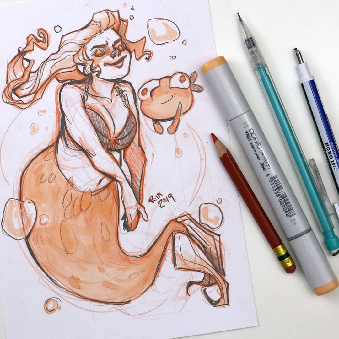 Mermay 06 I M Having A Hard Time With The Shoulders I Ll Try