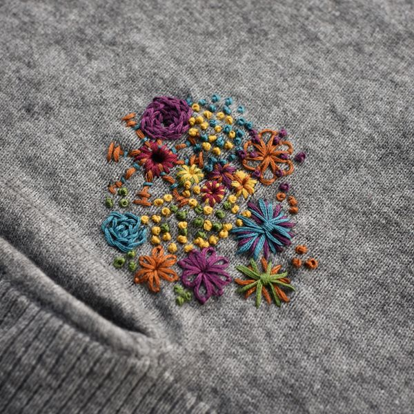 So just because your sweater gets a hole doesn't mean all is lost. Visible  MendingSweater EmbroideryEmbroidery FabricEmbroidery ...
