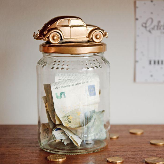 diy car coin bank geld verpacken pinterest geschenke geld und diy geschenke. Black Bedroom Furniture Sets. Home Design Ideas