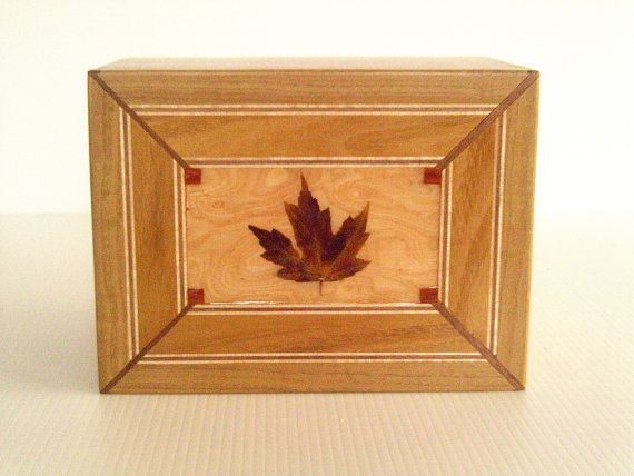 Fall Maple Leaf by HotovecWoodchips on Etsy, $119.00