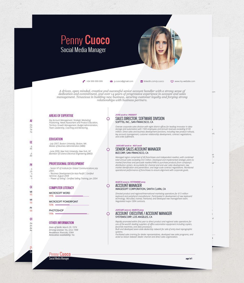 Askella resume template resume template free resume