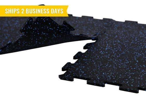8mm Strong Rubber Tiles Basements and Commercial