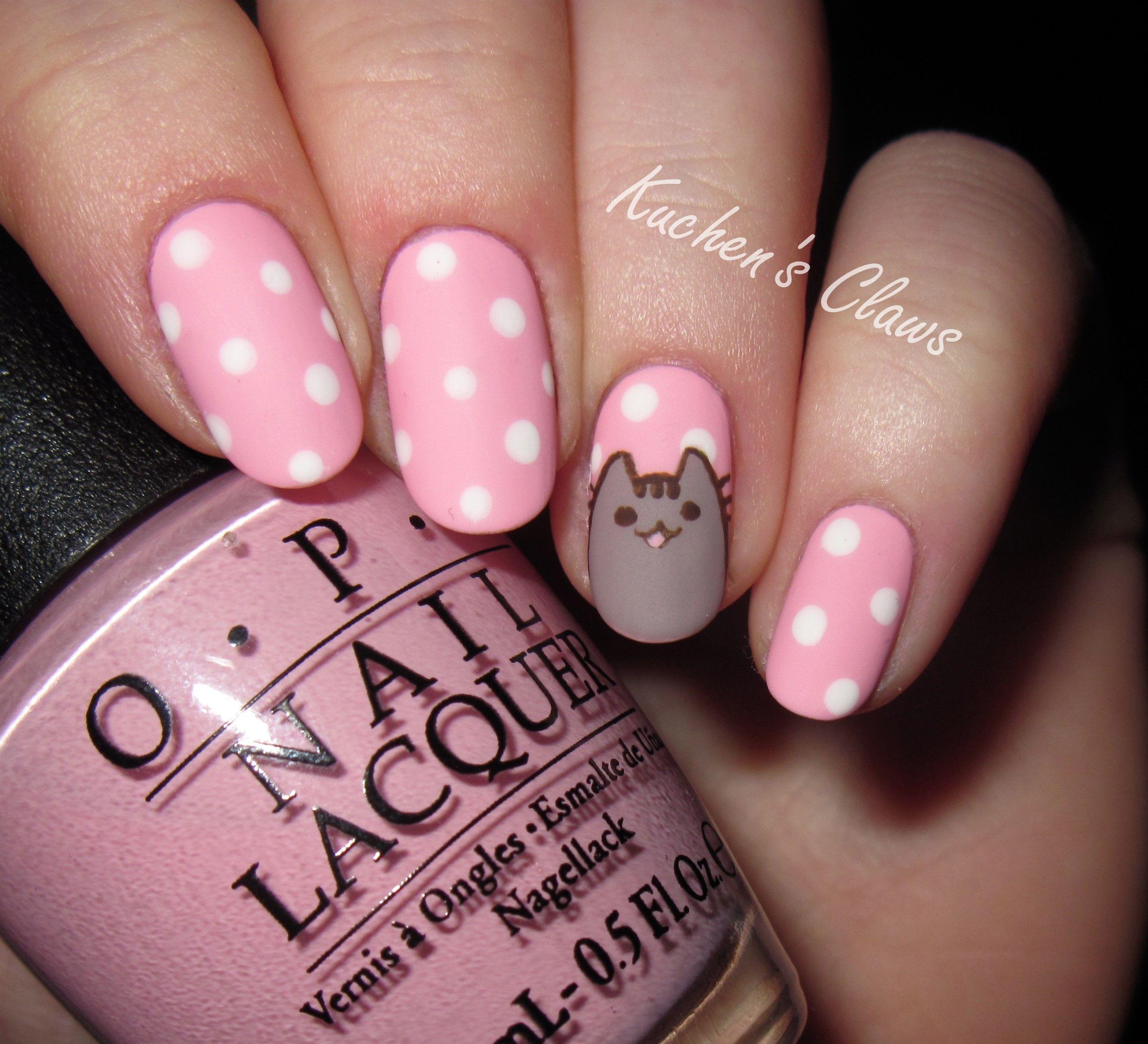 uñas decoradas con gatos 20 diseños con mucha ternura | Holiday nail ...