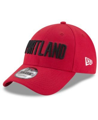 uk availability 2afcc f4a32 New Era Portland Trail Blazers Statement Jersey Hook 9FORTY Cap - Red  Adjustable