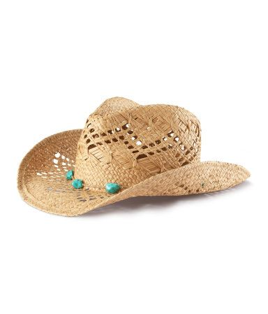 for katie, straw hat natural   H US