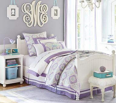 Bed Set Color W/wall Paint Color  Catalina Bedroom Set #pbkids