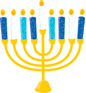 holiday menorah gift clip art clip art other holidays clipart rh pinterest com menorah clipart hanukkah menorah clipart