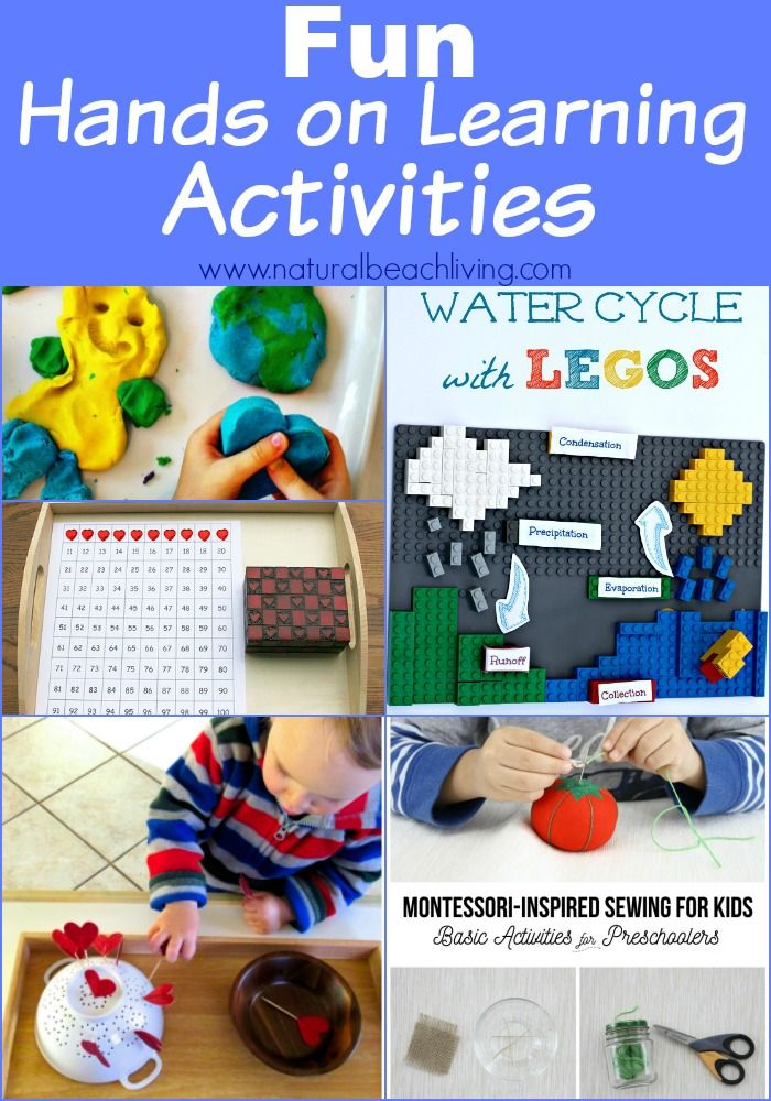 Hands on Learning Activities with Kids (Linky 54 ...