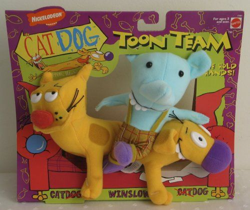 9fcc875fd16e CatDog plush toys! I Want These Guys Cuz They're Also From That Rugrat  Movie lol