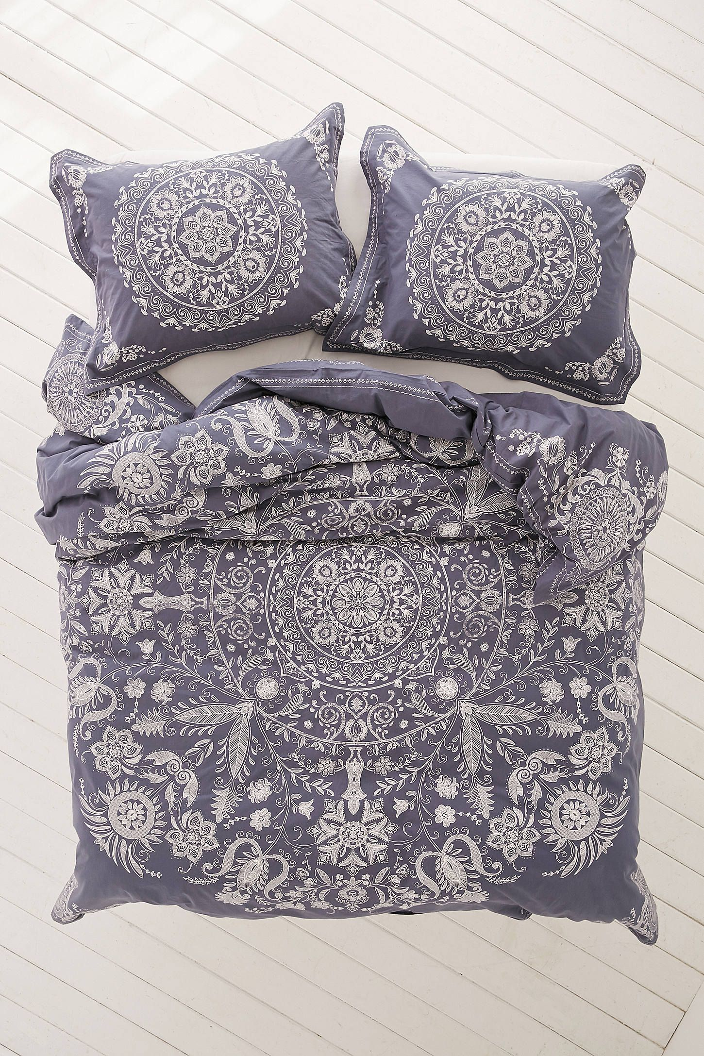 geo cover medallion magical petra pin duvet thinking