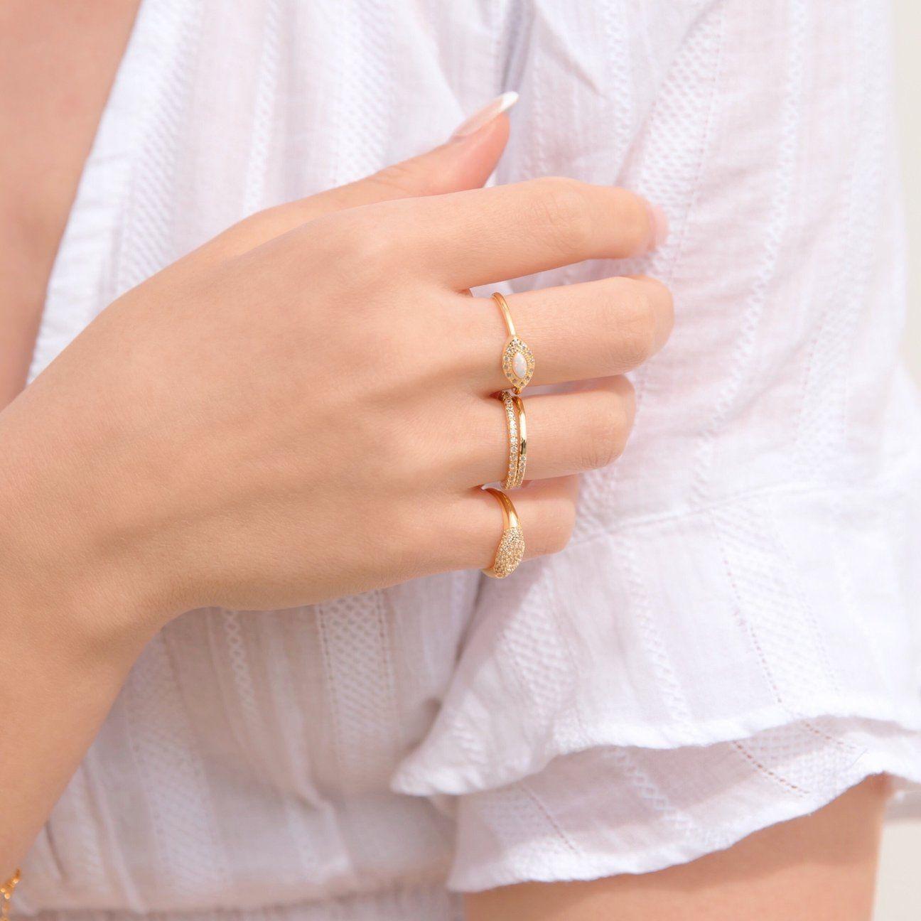 Photo of Opal Gemstone Ring